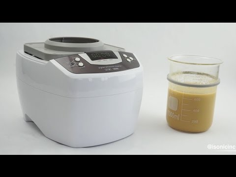 How To Make Liposomal Vitamin C In An iSonic Ultrasonic Cleaner