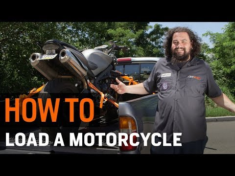 How To Load a Motorcycle Into a Truck at RevZilla.com