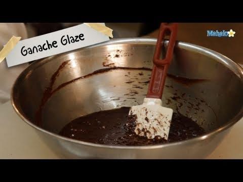 How to Make Ganache Glaze