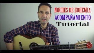 RUMBA NOCHES DE BOHEMIA, ACOMPAÑAMIENTO, Tutorial (Jeronimo de Carmen) Guitarraflamenca