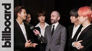 BTS Win Top Duo/Group | Backstage Interview | BBMAs 2019