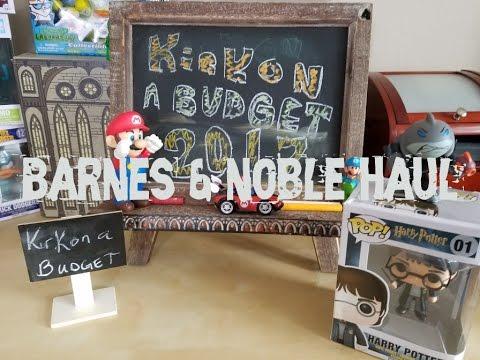 Barnes & Noble Gift Card Haul