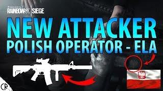 Polish Operator Ela Revealed M4/AR15 - Operation Blood Orchid - Tom Clancy's Rainbow Six Siege - R6
