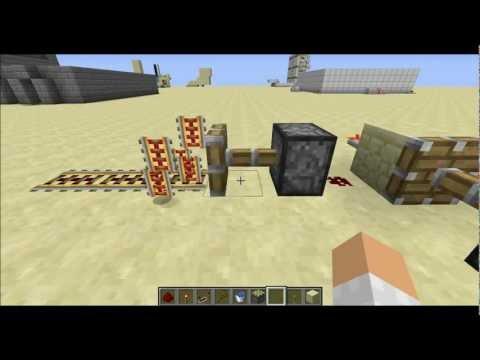 Minecraft 1.1 - Powered Rail Duplicate