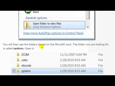 Recover MicroSD Password on Cell Phones