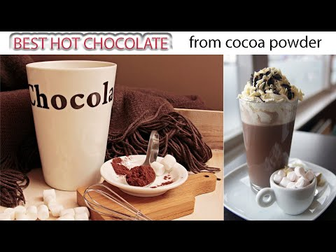 How to make hot chocolate with cocoa powder