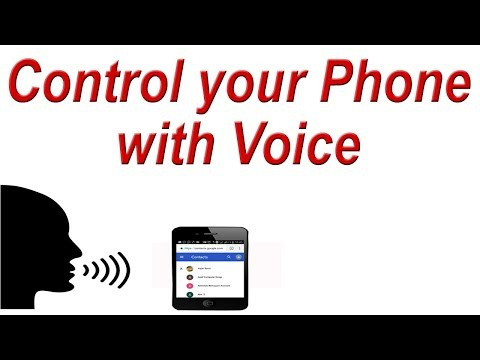 How to use Mobile with your Voice Commands | Control your Phone with Voice (Google Voice Access)