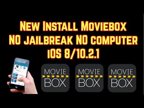 NEW INSTALL MOVIEBOX NO jailbreak NO computer iOS 9-10.2.1 for FREE Movie Box