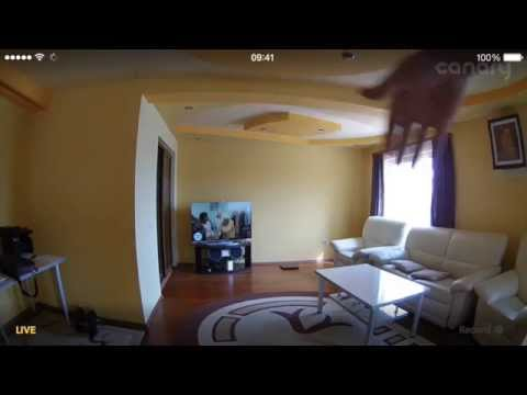 Video Sample: Canary Smart Home Security Device