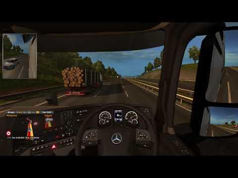 Euro Truck Simulator 2 #5 Southampton (GB) to London (GB)
