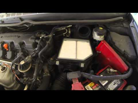 2010 Civic how to clean throttle body