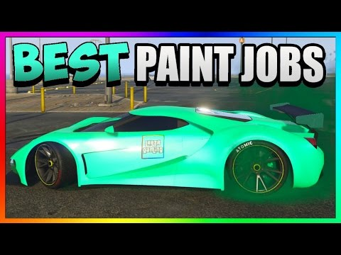 GTA 5 Online - Best RARE Paint Jobs & SEXY Car Color Schemes - MINT Fresh! (GTA 5 Paint Jobs 1.37)