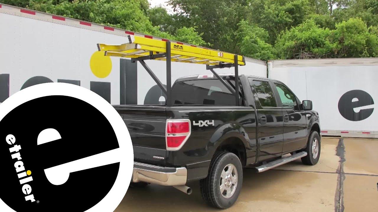 etrailer   DeeZee Customizable Truck Bed Ladder Rack Review