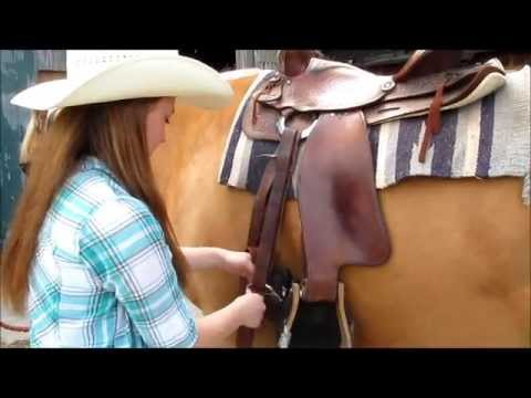 How to Saddle a Horse Western