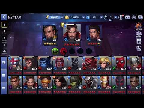 Marvel Future Fight Part 69 - World Boss Invasioning on a Blue Monday