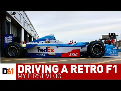 What it's Like Driving a Retro F1 Car (& my first VLOG)