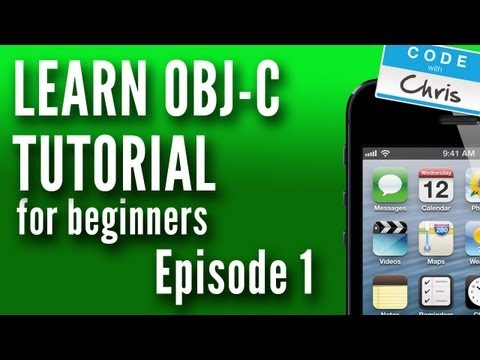 Objective C Tutorial For Beginners - Episode 1 - Variables