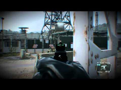 Metal Gear Solid IV Ground Zeroes 2nd Level Speed Run!