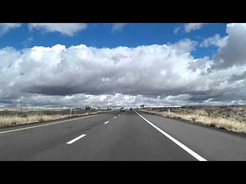 Route 66 Arizona: Holbrook to New Mexico I-40