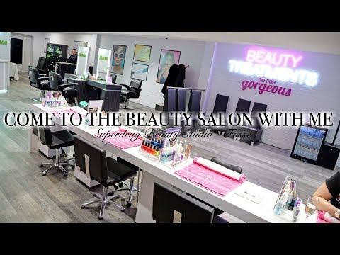COME TO THE BEAUTY SALON WITH ME // Superdrug Beauty Studio at Fosse