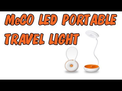 Meco portable led travel light and desk lamp - Review