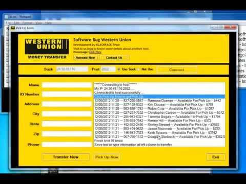 Western Union Bug 2015
