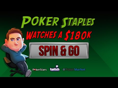 Poker Staples Watches a $180k Spin & Go