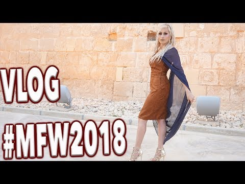 Malta Fashion Week VLOG 🎥 || Rosemarie Abela  & Jason Grech #MFW2018