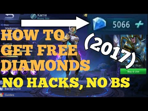 HOW TO GET FREE DIAMONDS IN MOBILE LEGENDS NO HACK