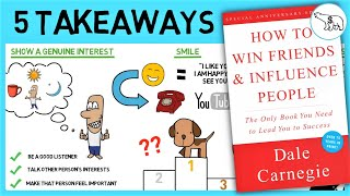 HOW TO WIN FRIENDS AND INFLUENCE PEOPLE (BY DALE CARNEGIE)