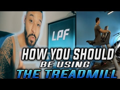How You Should be Using the Treadmill at an Incline to Lose Weight or When Cutting