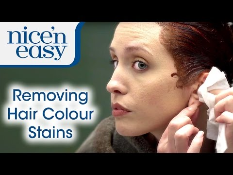 Home Hair Dye Tips: How to Remove Hair Dye Stains | Nice 'n Easy