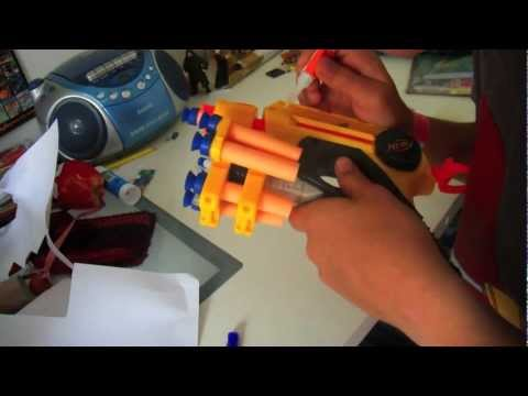 How to make Nerf dart holders