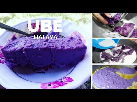 paggawa ng ube halaya, 5 Easy steps will make you