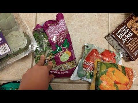 Vlog 8/28-8/31: Food + Exercise, Gluten, Trader Joes Haul!