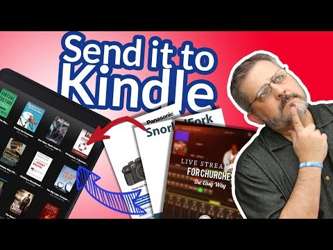 How To Use Send To Kindle to Manage Your PDFs