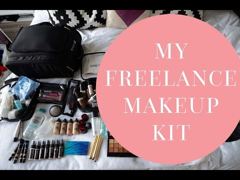 What's In My Freelance Makeup Kit For Professional & Inspring Makeup Artists