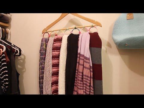 DIY Scarf Hanger | ArtsyPaints