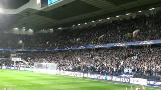 Oh When The Spurs... (THFC V INTER MILAN) Champions League