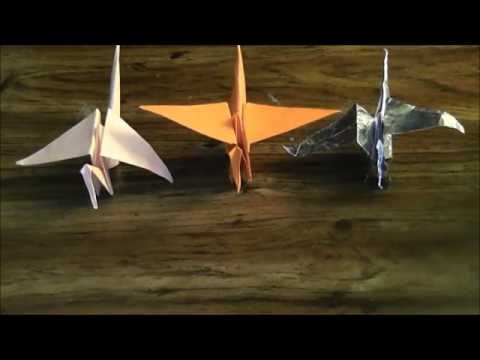 How To Make: Origami Flying Cranes
