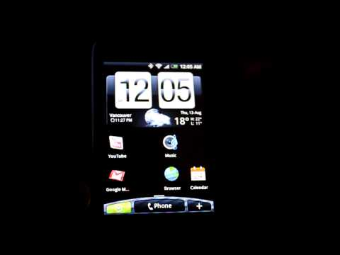Rogers HTC Magic running the ROM for the new Andriod - Video2, a closer look...