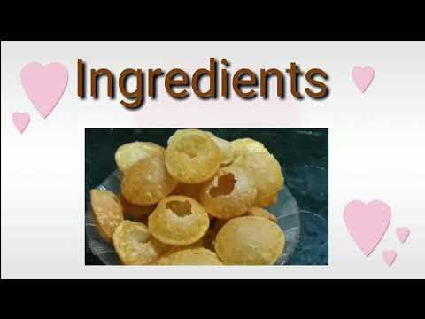 How to make Pani Puri ki Puri at home |How to make Golgappa at Home | Homemade pani puri .