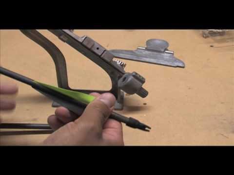 Crossbow Fletching Nock