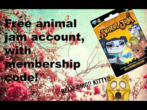 ANIMAL JAM ACCOUNT! NO PASS REQIRED WITH FREE CODE