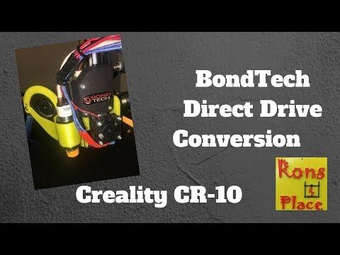 BondTech BMG Direct Drive Conversion - CR-10