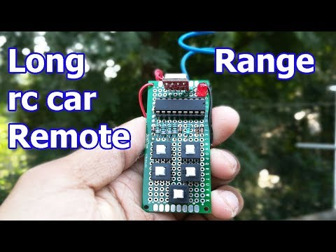 Make a long range all in one remote for rc car/home automation at home