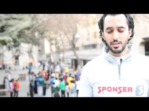 Sponser Egypt at Parkour Event