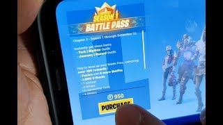 Fortnite: How to Purchase Battle Pass For Chapter 2 - Season 1