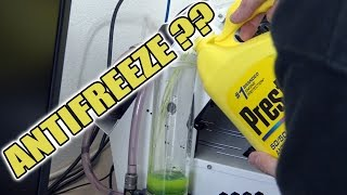 I used Antifreeze to cool a PC