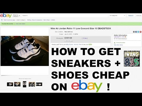 How to Get Jordan/Nike Shoes and Sneakers CHEAP on eBay! PART 1 Tutorial!